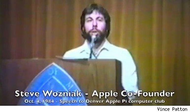 Woz, Wigginton videos surface in 1984 user group talk treasure trove