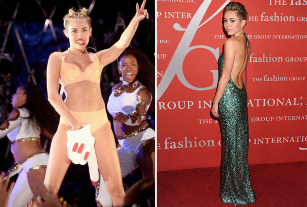 Miley Cyrus tops Time's annual best AND worst-dressed lists
