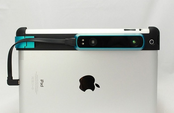Occipital's Structure Sensor clamps onto your iPad for 3D scanning on-the-go