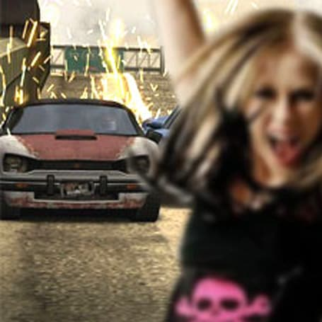 Avril Lavigne premieres new song in Burnout Dominator