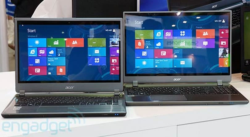 Acer Aspire Timeline Ultra M5 hands-on (video)