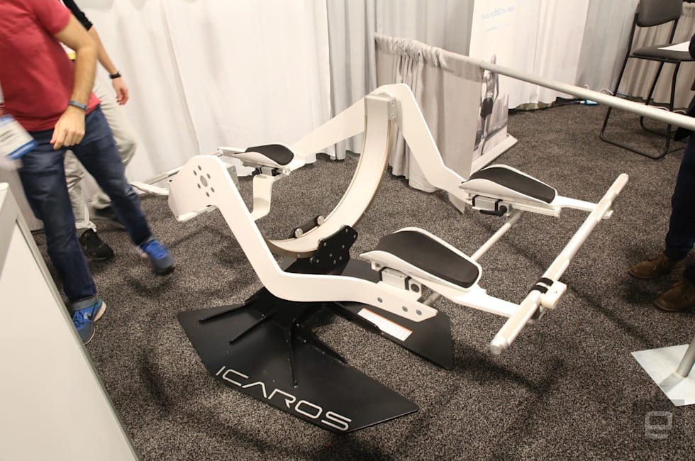 This VR flying rig had me pining for the fjords
