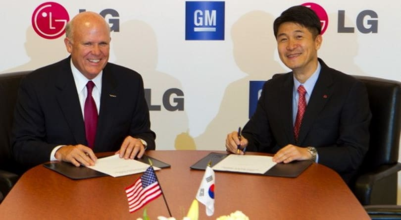 LG and GM team up to build next generation of electric cars