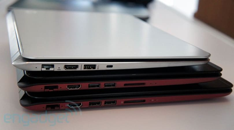HP unveils Envy Spectre XT Ultrabook, other thin-and-lights in various sizes