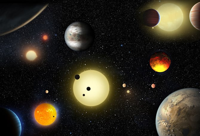 Kepler telescope finds its largest-ever batch of planets