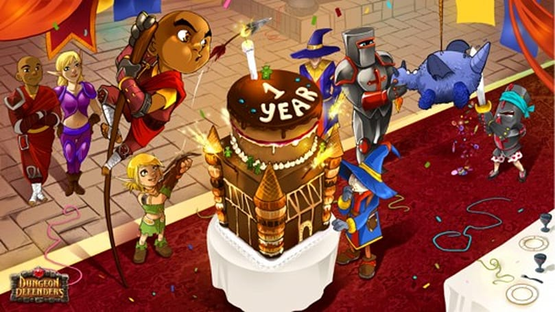 Dungeon Defenders celebrates first birthday with new content, sale