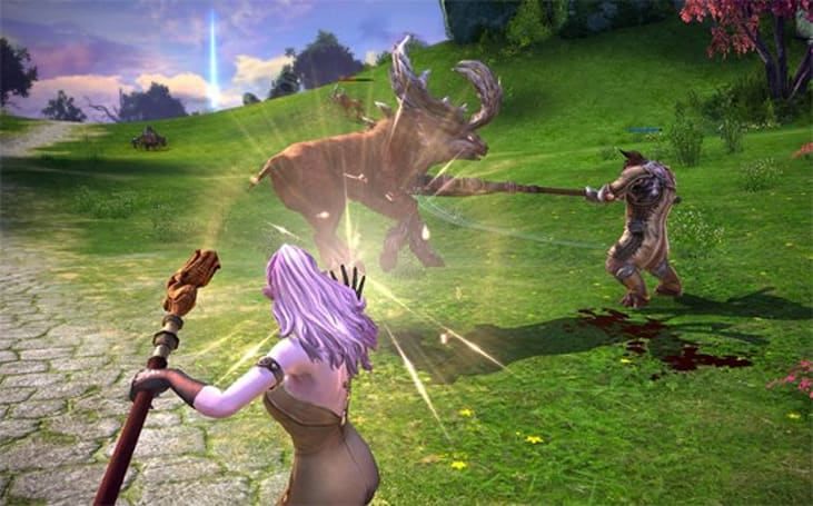 TERA play diary talks world size, combat timing, and more