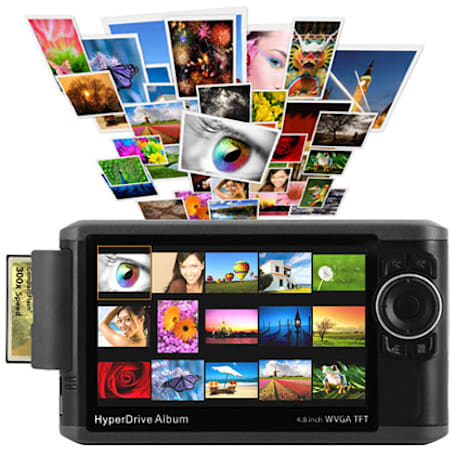 Sanho crams 640GB of memories into your pocket with HyperDrive Album photo viewer