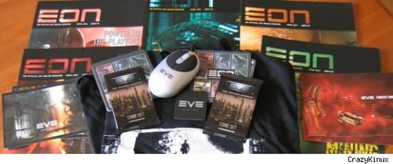 EVE giveaway:  Fanfest loot from CrazyKinux's Musing