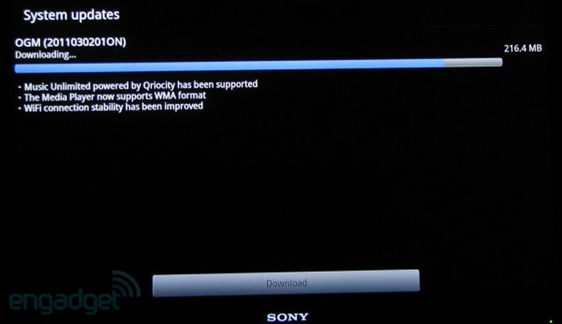 Sony Google TV devices get a modest upgrade with Music Unlimited, WMA playback -- but no Android Market