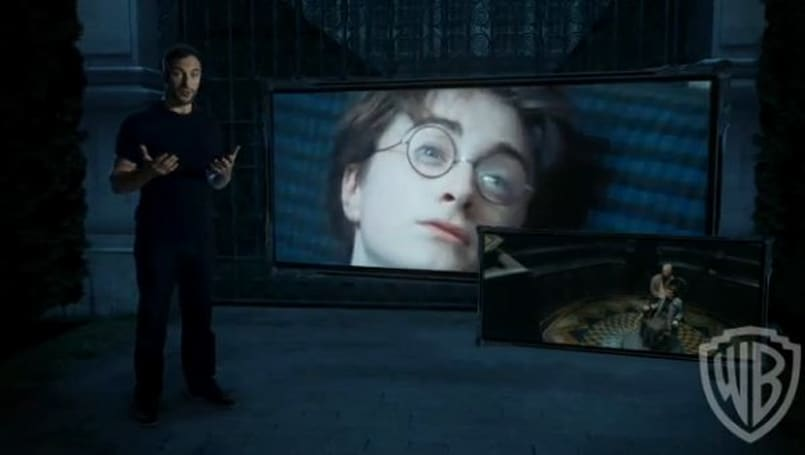 Harry Potter and the Deathly Hallows Part 1 'Dementors' and 'Golfing with Ron' Blu-ray extras