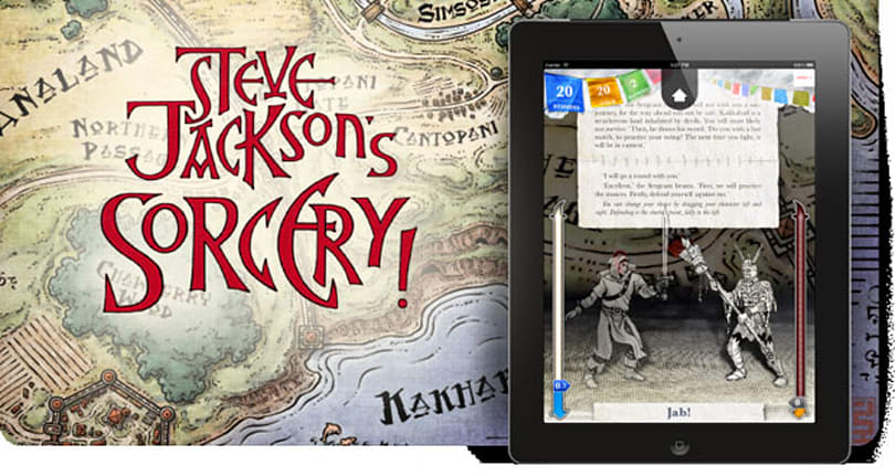 Sorcery! on iOS reincarnates Fighting Fantasy books for tablets (video)