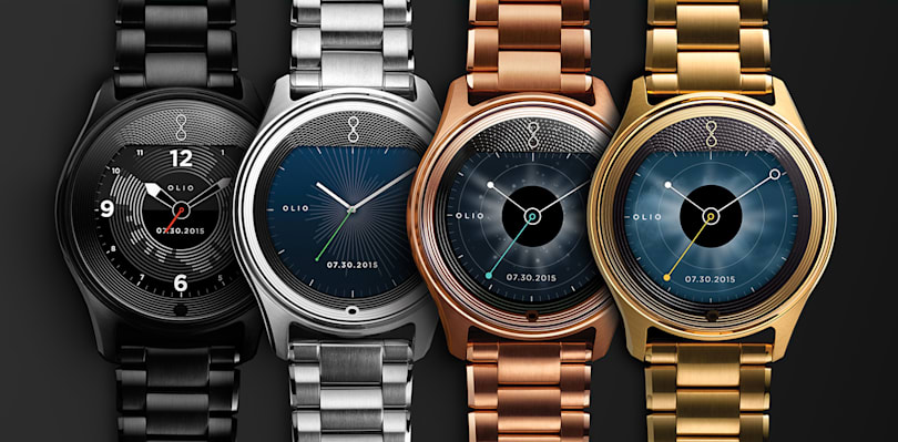 Engadget giveaway: Win a Model One smartwatch courtesy of Olio!