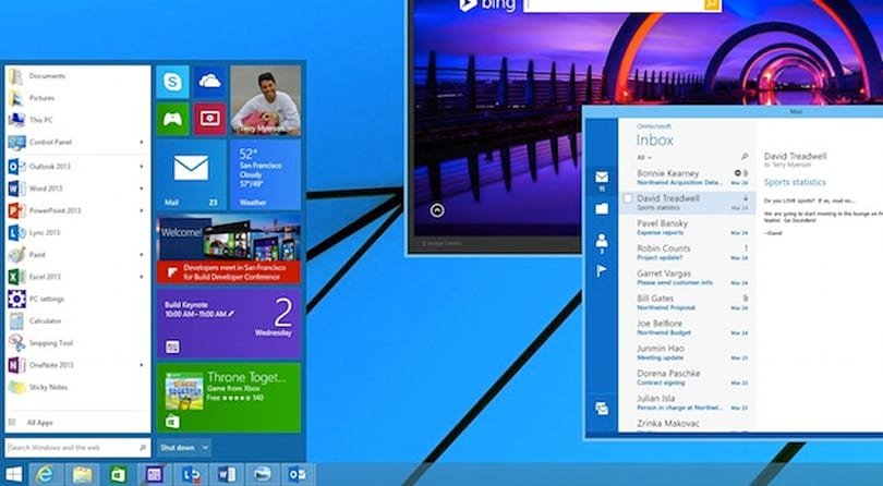 Microsoft teases a classic Start Menu for Windows 8.1 with built-in Live Tiles
