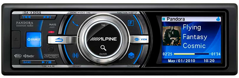 Alpine intros Pandora-controlling iDA-X305S head unit, INA-W900 in-dash nav system