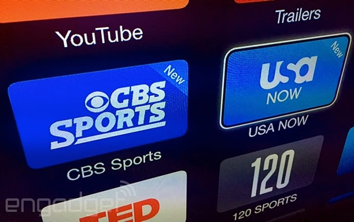 Apple TV channel lineup expands with CBS Sports and USA Now