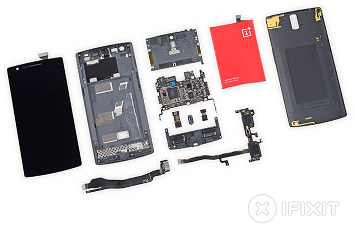 iFixit: OnePlus One equals five for repairability