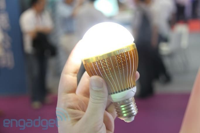 Lite-On's Mobile Lamp LED bulb works even when the power is out