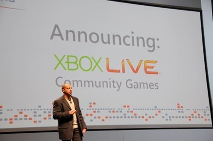 "First Xbox 360 Community Games to hit Live ""immediately"""