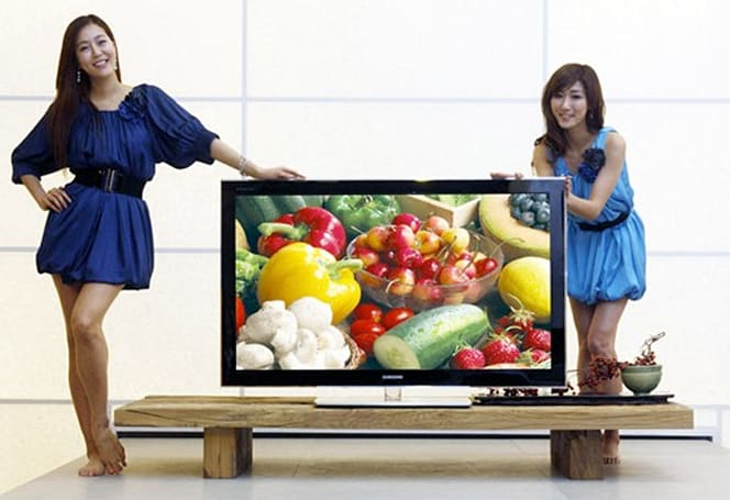 Samsung's 850 PAVV plasma teases the 1-inch thick mark