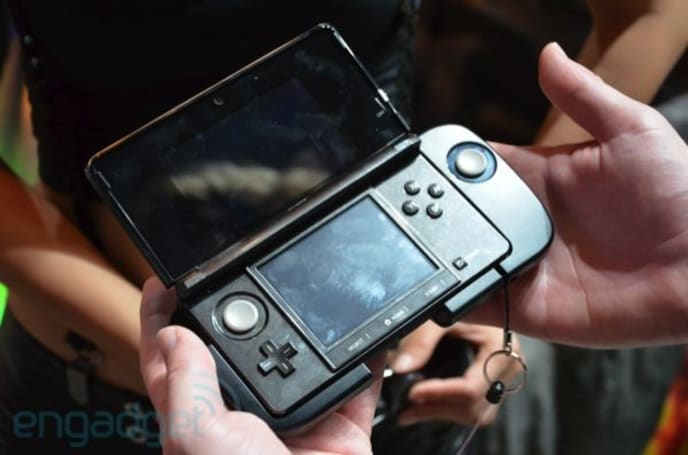 Nintendo 3DS SlidePad coming to the US under the name Circle Pad Pro?