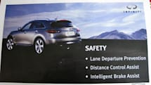 2009 Infiniti FX35, FX50 to include Distance Control Assist