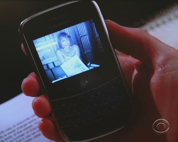 Screen Grabs: Blackberry Bold located in 'Without a Trace'