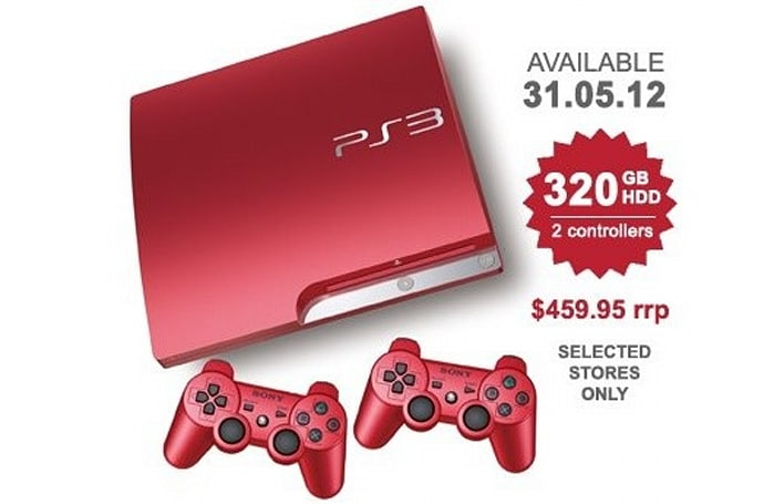 Red PS3 lands on Australian shores at the end of May