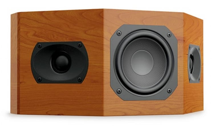 Aperion Audio's Intimus 4BP speakers surround you discreetly