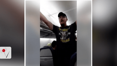 Passenger Disrupted Flight With Trump Rant