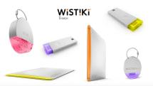 スマホと連携して忘れ物防止、オシャレな探しモノ系ガジェット「Wistiki by Starck」(世永玲生)