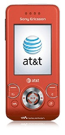 Sony Ericsson W580i for AT&T, now with more red