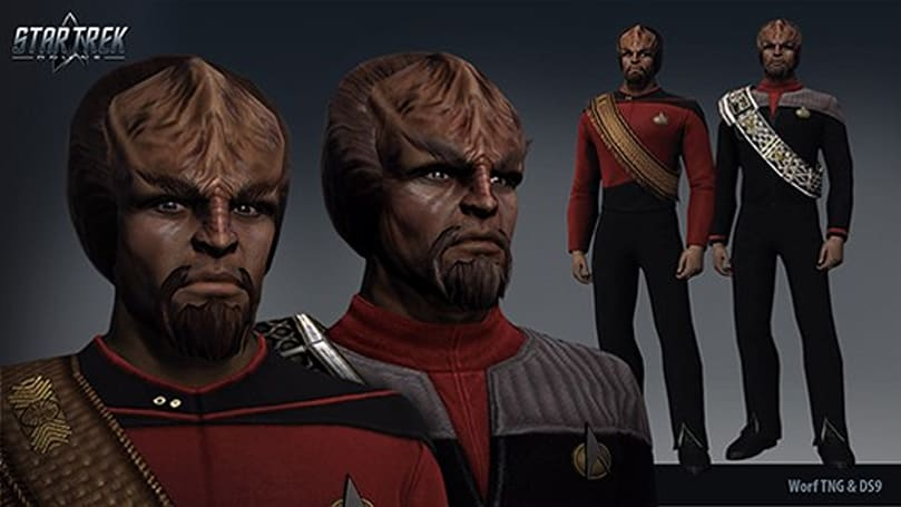 Star Trek Online dev blog on building the perfect Worf