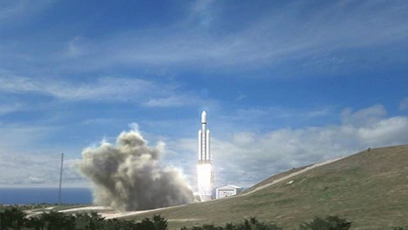 SpaceX breaks ground at Vandenberg Air Force Base, continues preparation for 2013 Falcon Heavy launch