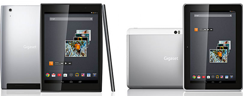 Gigaset gets into Android tablets with two models, including a Tegra 4 flagship