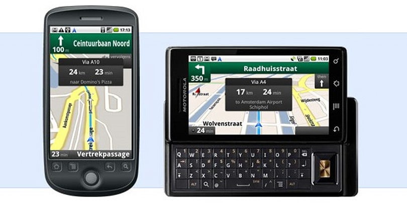 Google Maps Navigation comes to Canada and mainland Europe, remains free as a bird