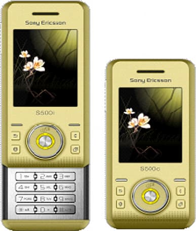Sony Ericsson S500i in the wild -- and it could be yours