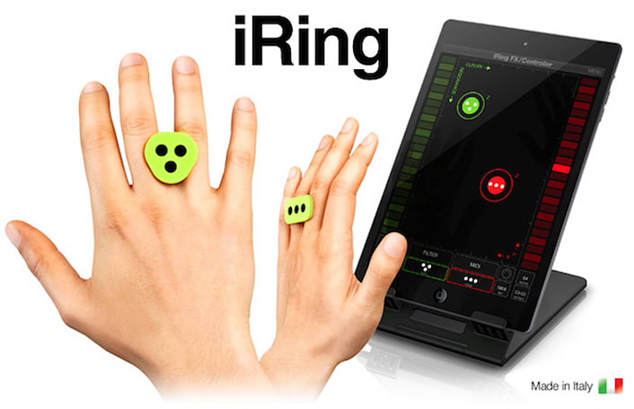 IK Multimedia's iRing music motion controller arrives