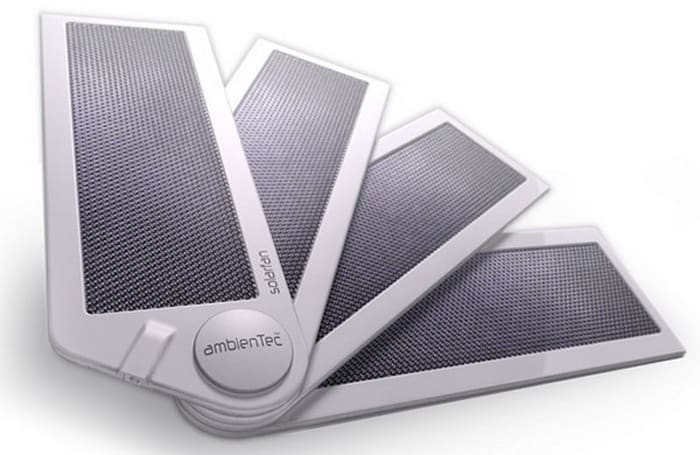 AmbienTec's SolarFold and SolarFan charge your gadgets, available without prescription (video)