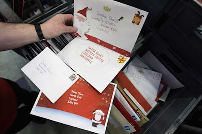 Using Pages to print Christmas card labels