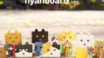 NHKのアニメ「にゃんぼー!」に登場するネコキャラがモバイルバッテリーに。6種類のラインアップで猫好きは必見