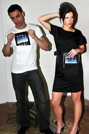 iClothing: Fashionable (?) iPad wearables from Australia