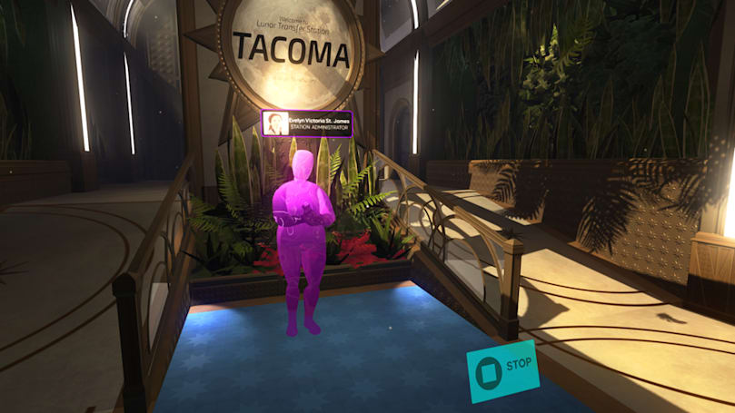 Virgin-Tesla takes you to space in Gone Home studio's 'Tacoma'