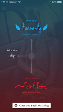 Find Tinder too ambiguous? Heavenly Sinful is here to help.