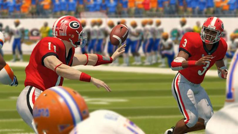 EA Sports told the NCAA it was using real players in its college football titles -- back in 2007