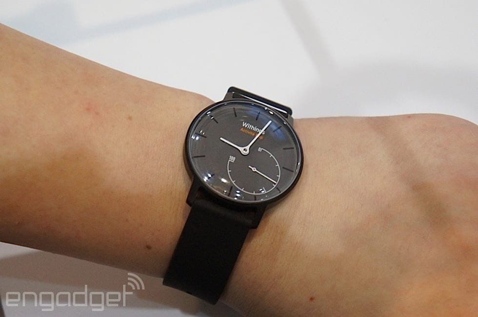 Withings launches a cheaper version of its analog fitness ...