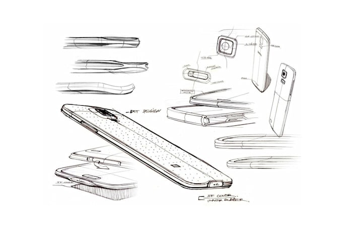 Samsung's more daring phone designs: a visual history