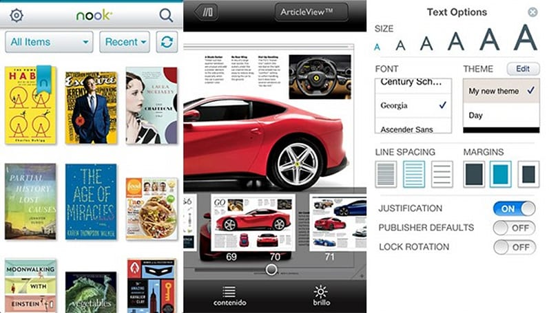 Nook app packs new features on iOS and Android, makes UK debut