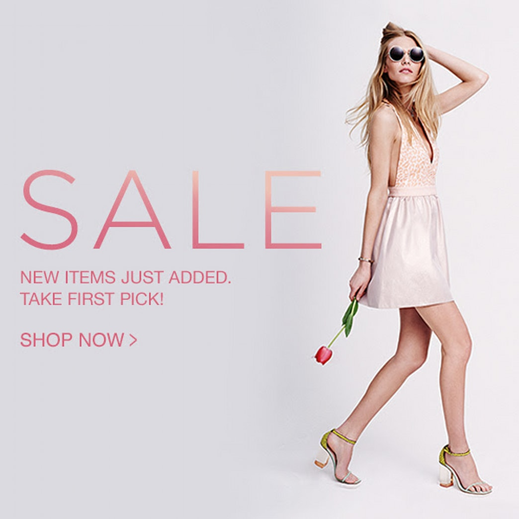 SALE ALERT: New markdowns at Shopbop!