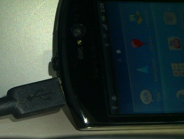 Sony Ericsson mystery handset leaks out, provides juicy rumor material